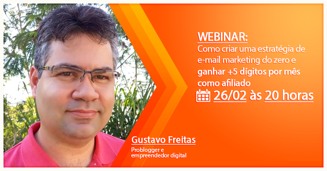 Webinar gratuito com Gustavo Freitas
