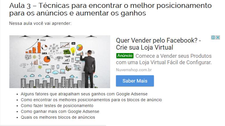 Como usar os novos blocos de anúncio do Google Adsense
